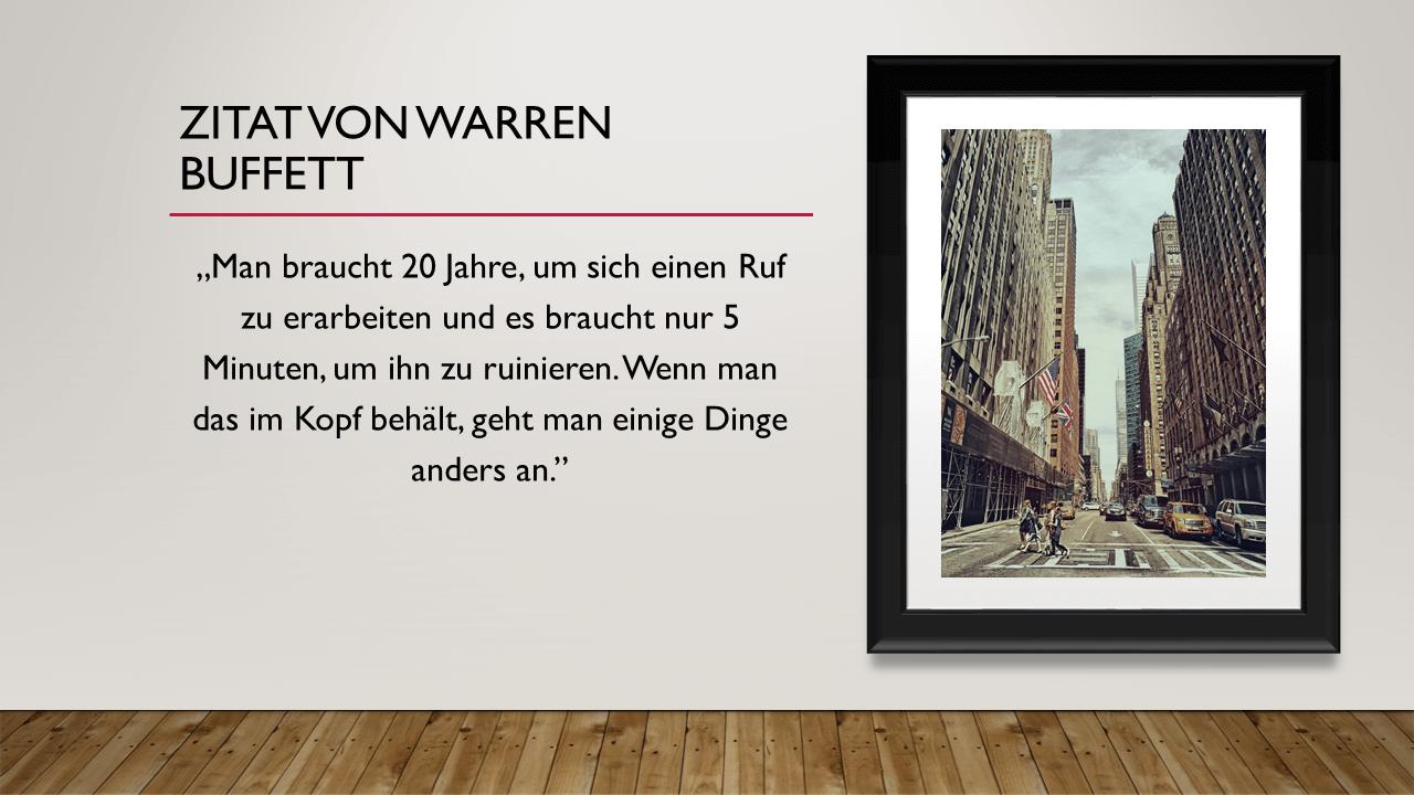 Zitat von Warren Buffett