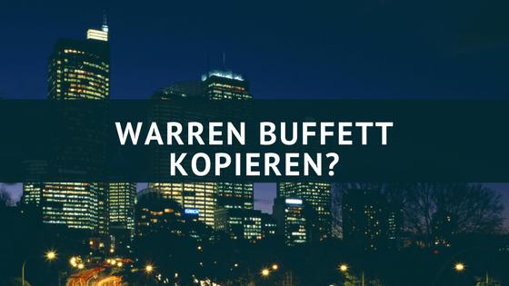 Warren Buffett kopieren