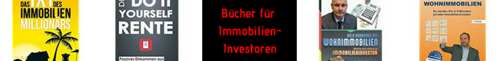 Bücher für Immobilien-Investoren
