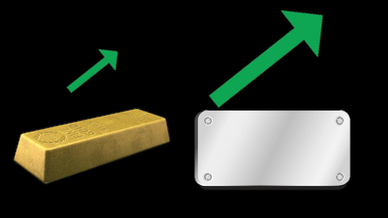 Silber bietet aktuell mehr Chancen als Risiken