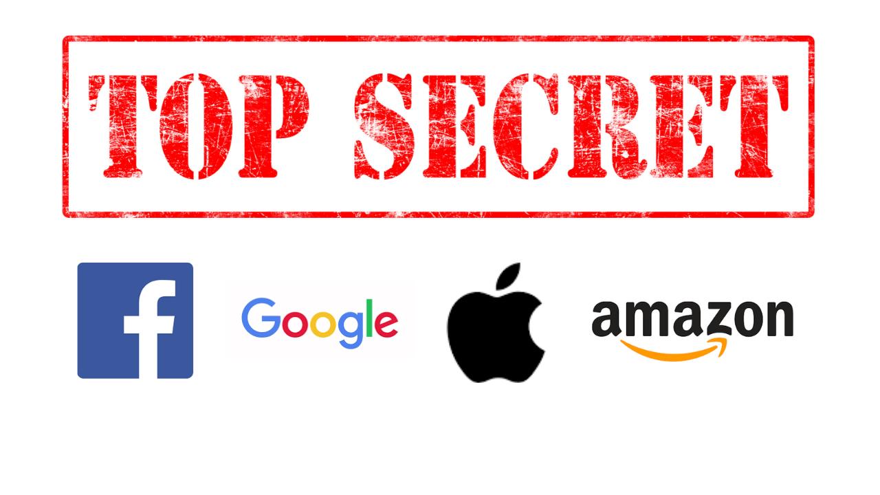 Die geheime DNA von Facebook, google, Apple und Amazon