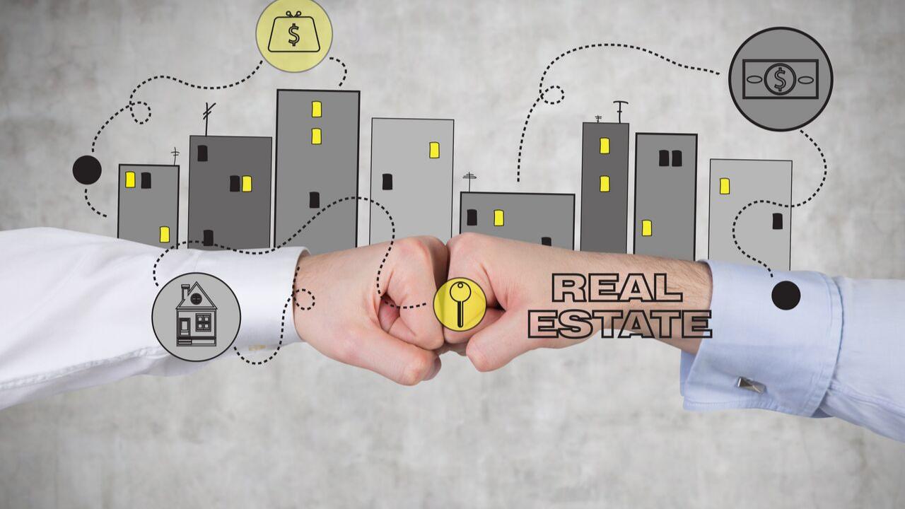 Reich mit Immobilien